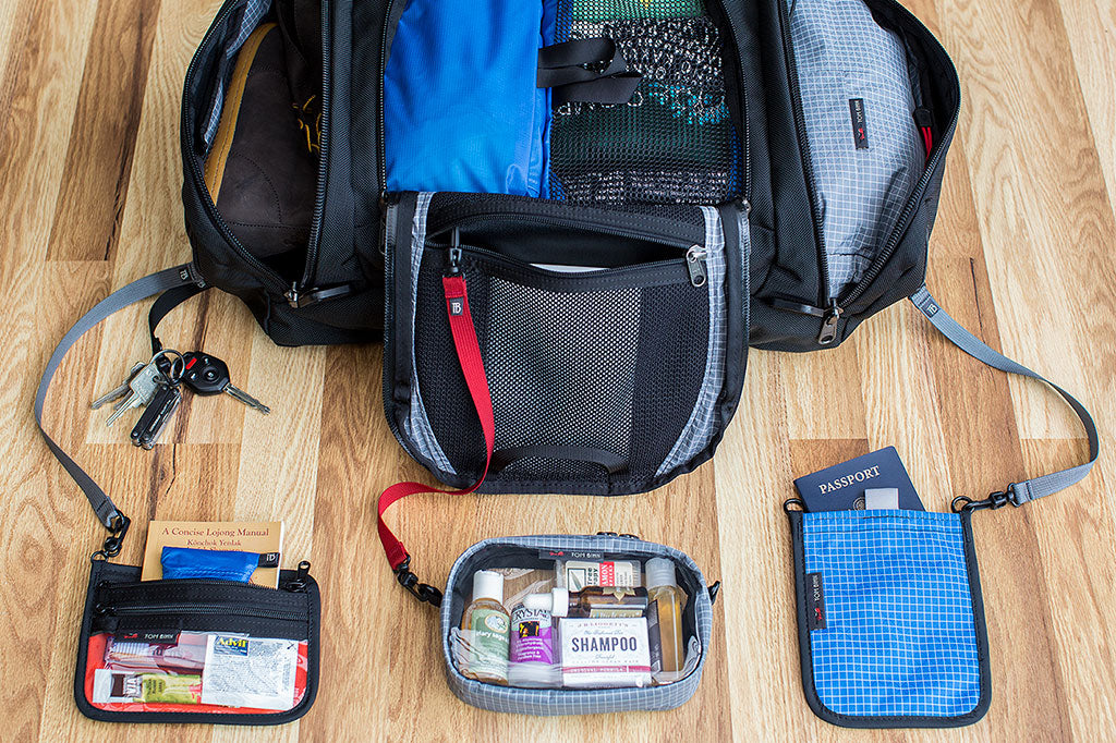 Organized travel with the Aeronaut 45 |https://www.tombihn.com/collections/instock/products/aeronaut-45|