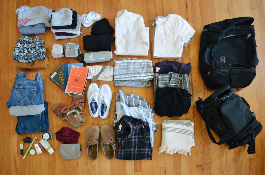 Jenn's Road Trip With The Aeronaut 45 Travel Bag Packing List | TOM BIHN