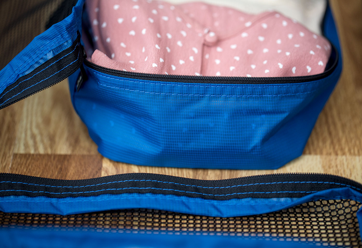 Structured Packing Cubes Can Make Packing Easier
