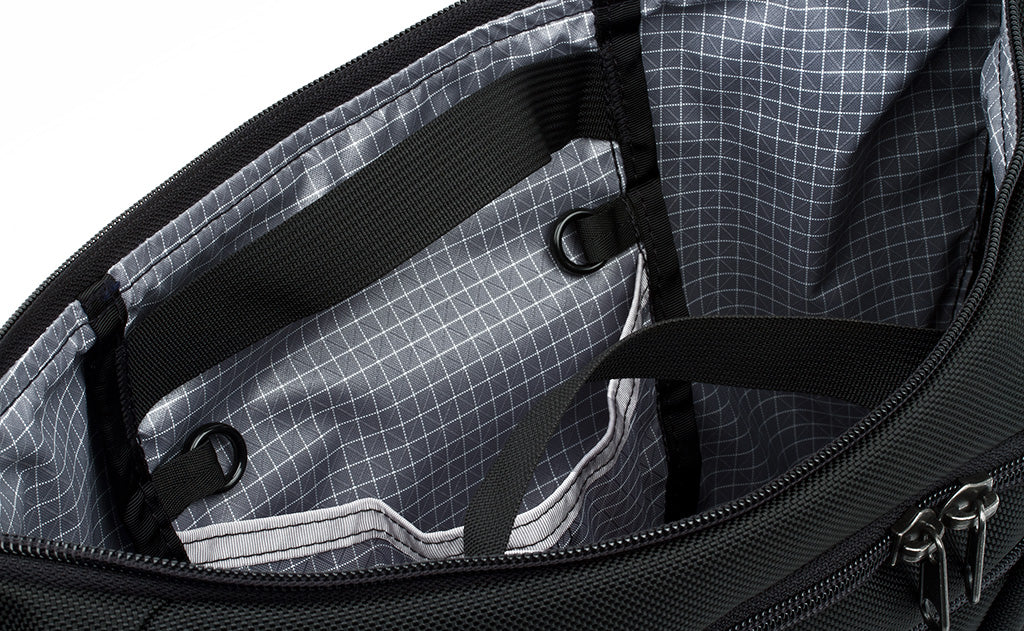 TOM BIHN Parental Unit Design Updates: Interior Grab Handles