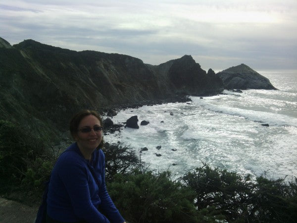 Allison Levine at Big Sur.