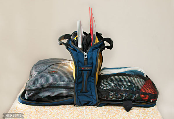 Beers & Beans review of the TOM BIHN Tri-Star travel bag
