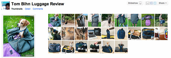24 More Great Photos from the Beers & Beans review of TOM BIHN bags