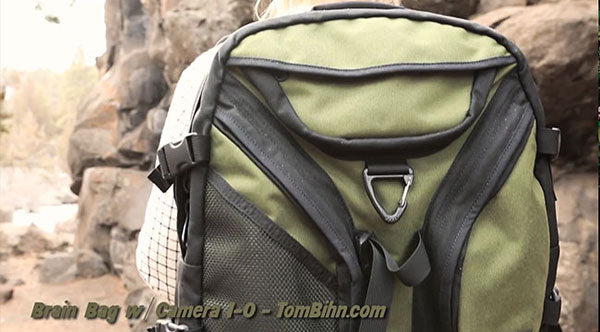 TOM BIHN Brain Bag Camera Bag Review