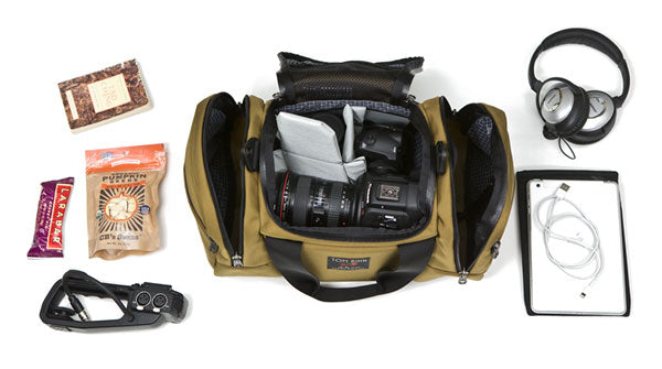 Canon C100 Cinema Bag Night Flight Travel Duffle | TOM BIHN