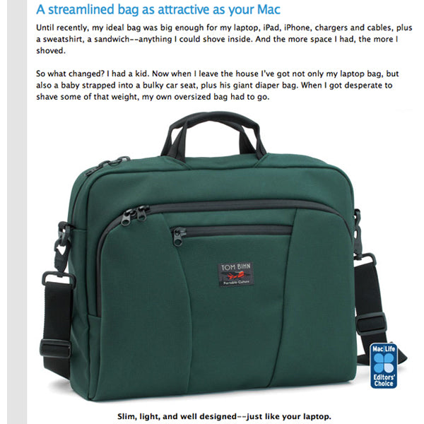 TOM BIHN Cadet reviewed at Mac|Life