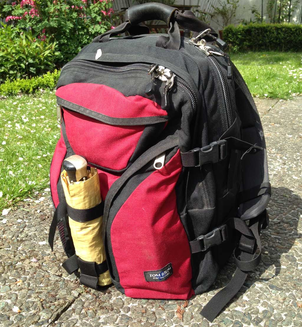 15 Years With the Brain Bag Backpack | TOM BIHN