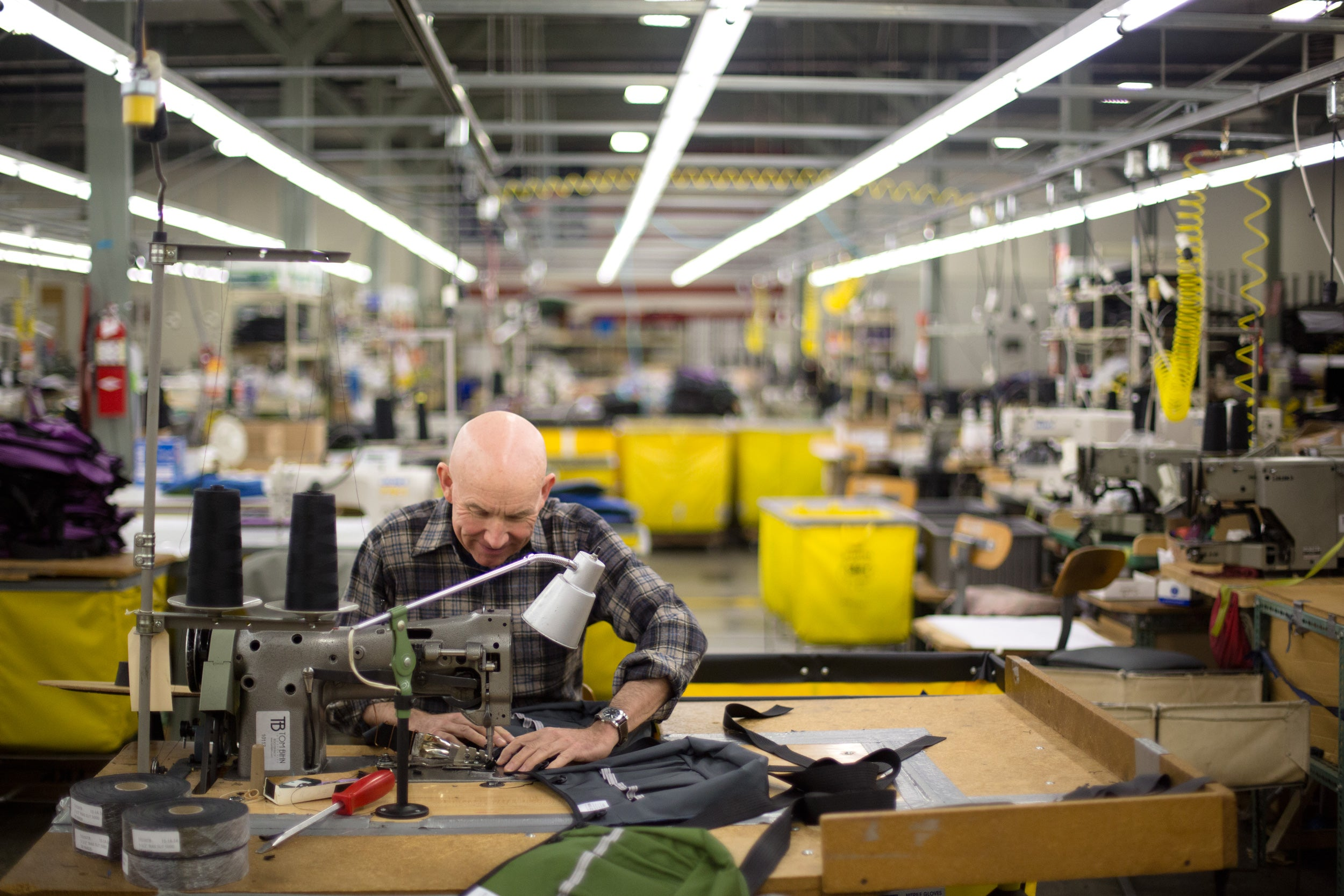 Tom's Consew Sewing Machine: In Service for 25 Years | TOM BIHN