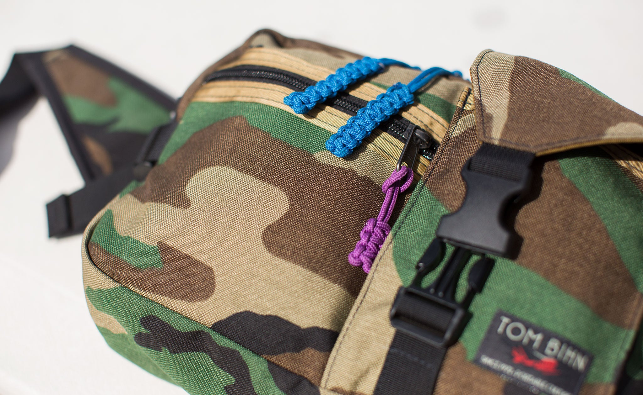LGD in Beaver Camo w/Robust Knot Cord Pulls