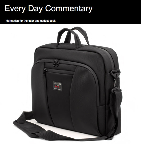 Every Day Commentary on the TOM BIHN Cadet