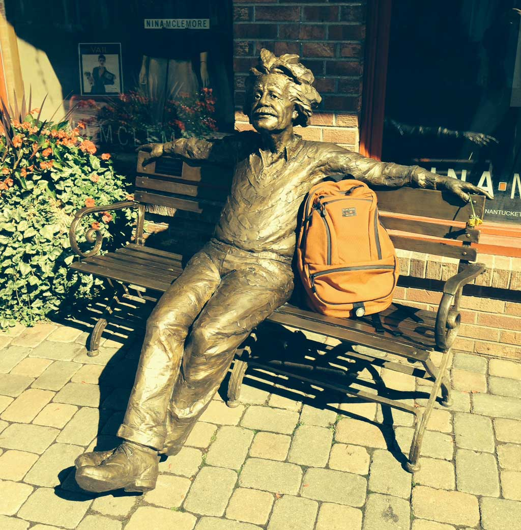 Einstein and his Synapse in Colorado | TOM BIHN