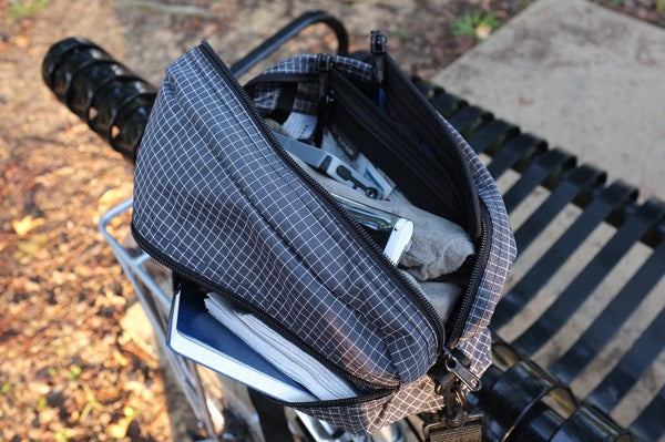 TOM BIHN Packing Cube Shoulder Bag: photos by Eire