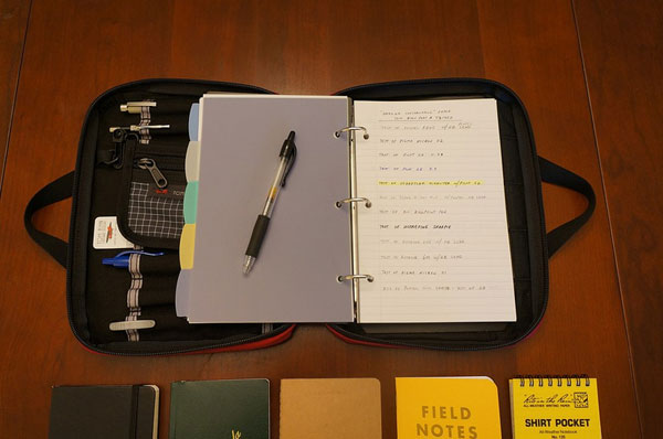 Field Journal Notebook first impressions