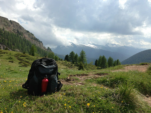 Franco: Brain Bag in the Italian Alps