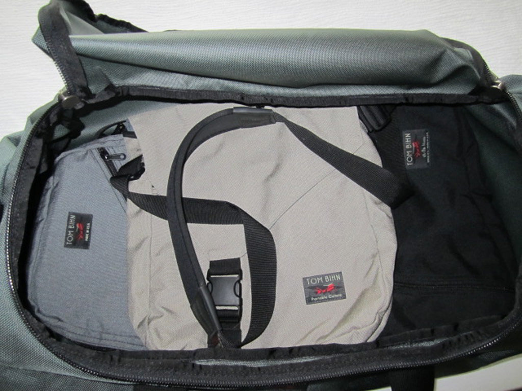 One Bag, One World review of the TOM BIHN Yeoman Duffel Bag