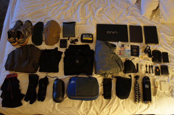Gear List – 12 Month Round the World Trip