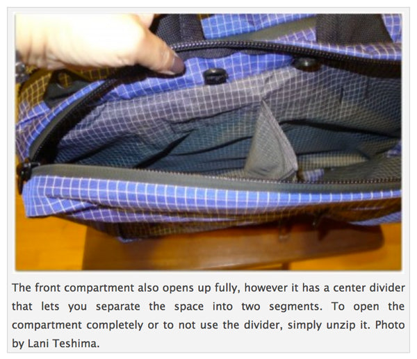 TOM BIHN Western Flyer reviewed by the Travelite FAQ