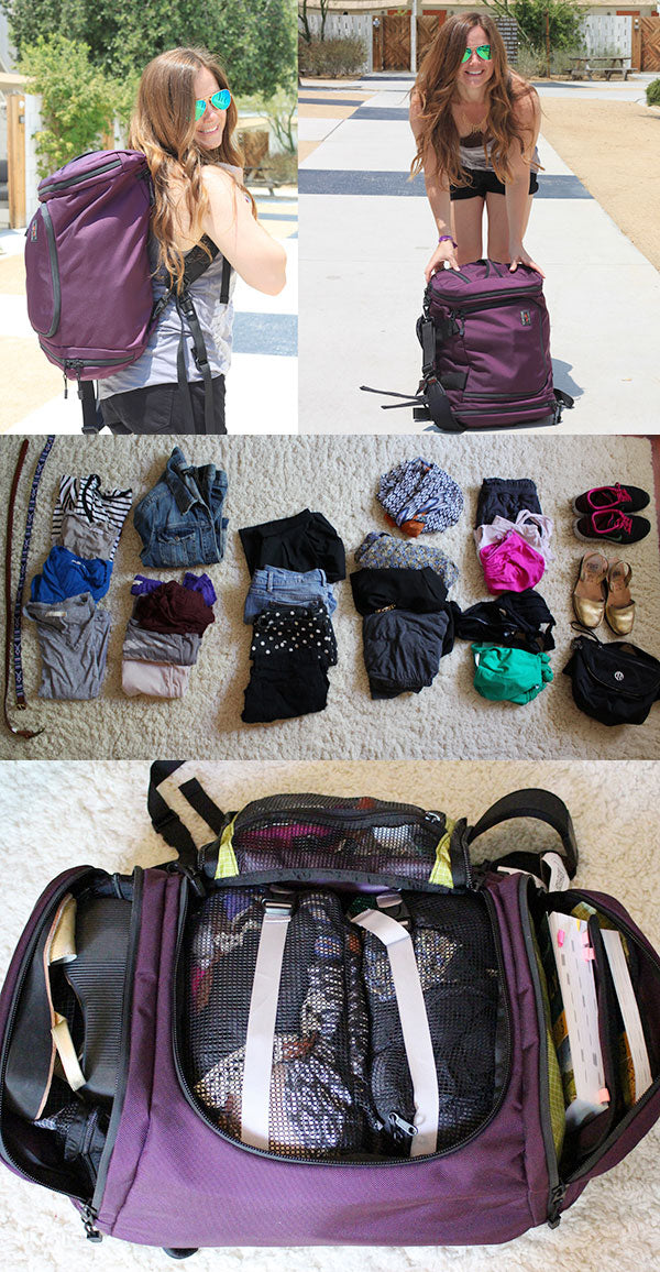 Packing for one month to Europe with the TOM BIHN Aeronaut