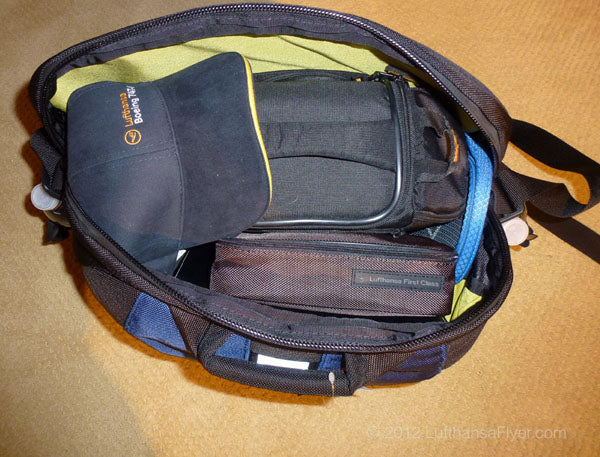 TOM BIHN Super Ego as a messenger bag