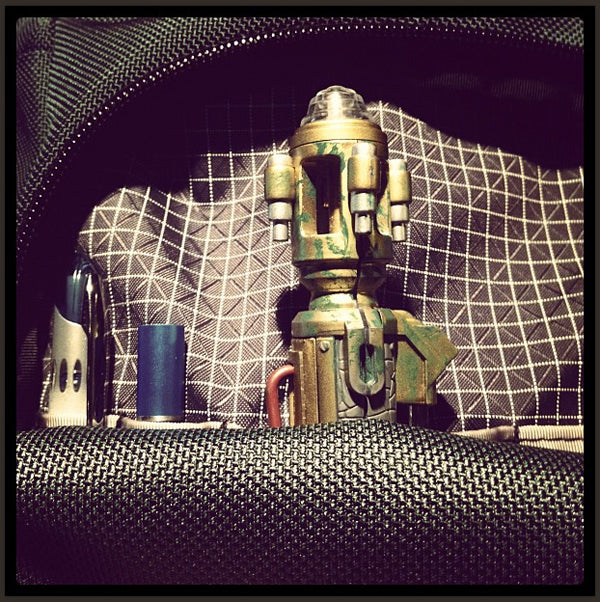 """megsleigh: """"River Song's sonic screwdriver in a @tombihn Ristretto"""""""