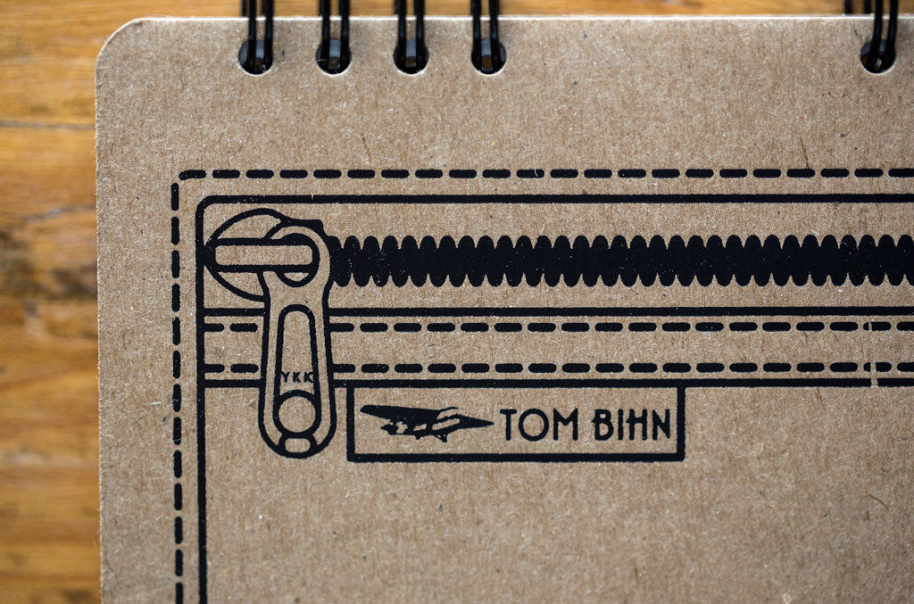 TOM BIHN Recycled Square Notebook