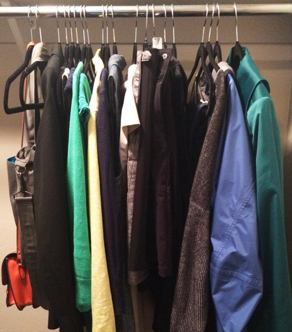 Courtney Carver's wardrobe.