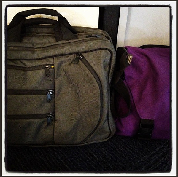Patti Digh loves her TOM BIHN bags