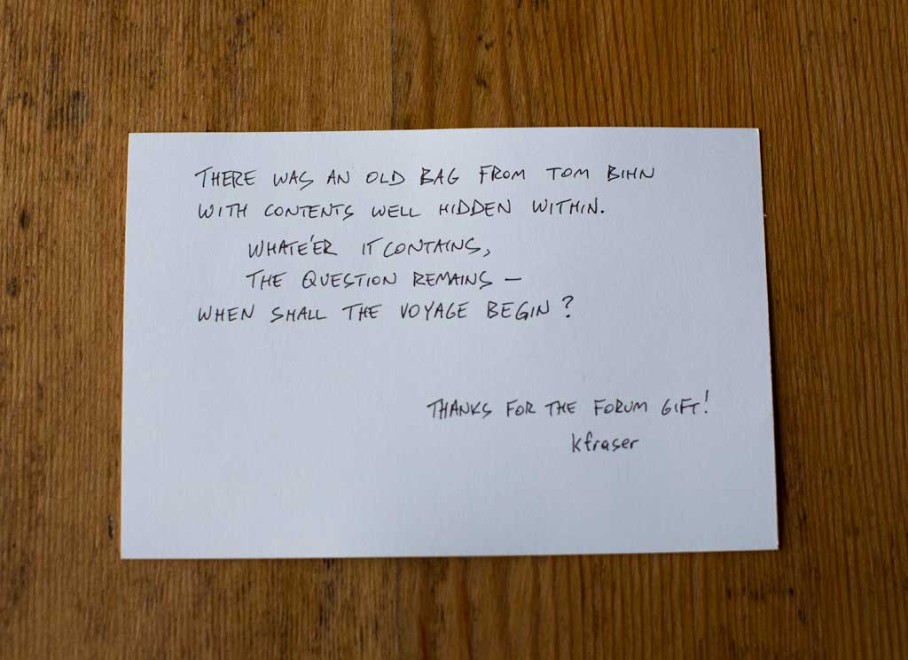 Field Journal Notebook Postcards | TOM BIHN