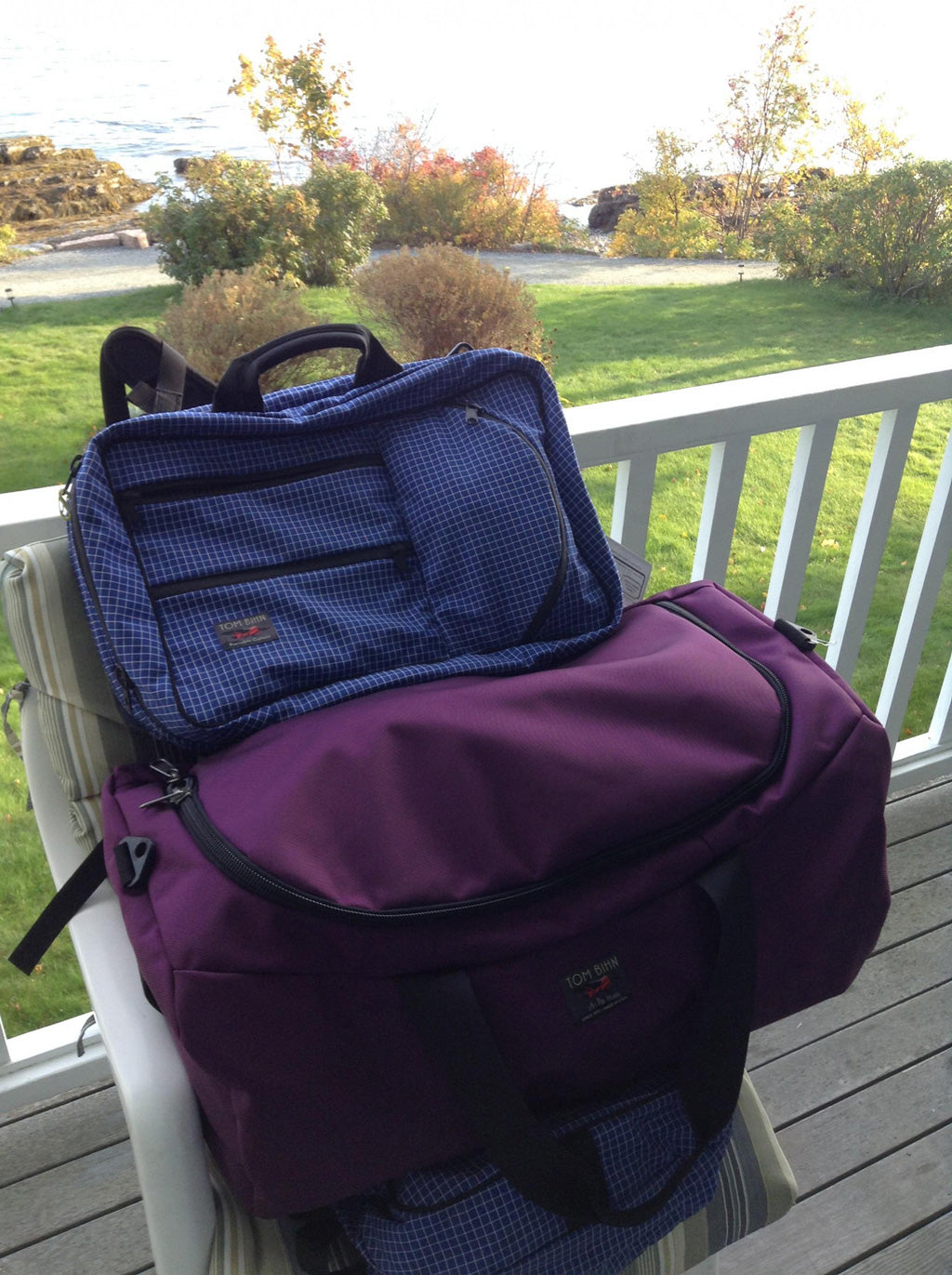 Sarha's Yeoman Goes To Maine | TOM BIHN