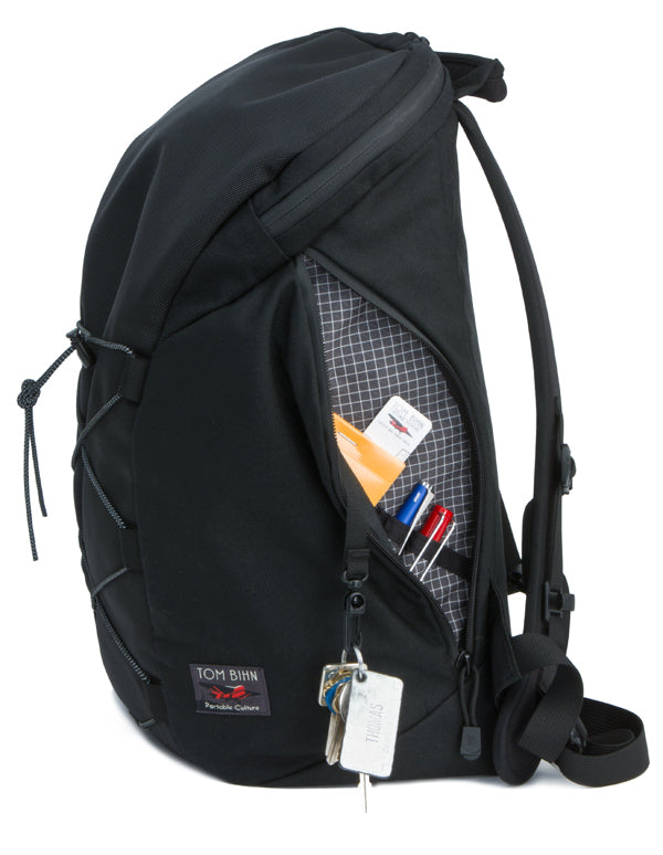 The Smart Alec Backpack by TOM BIHN, made in USA