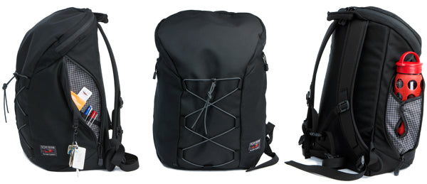 The Smart Alec backpack designed and made by TOM BIHN