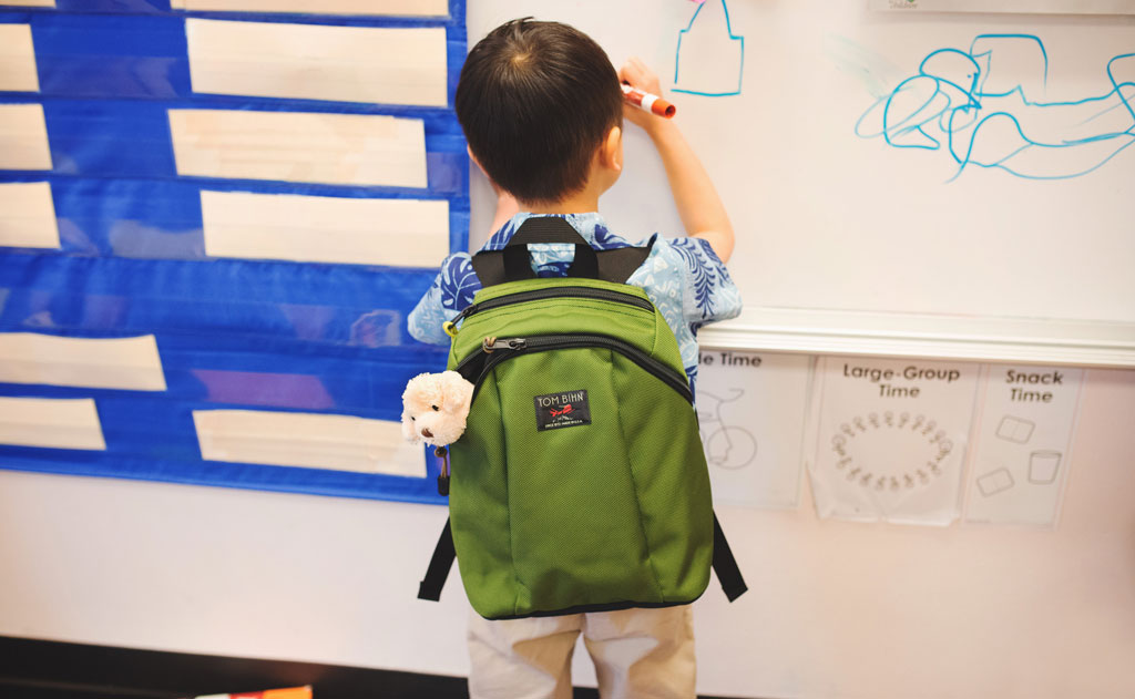 The Sprout Kid's Backpack - A Kid's First Backpack - TOM BIHN