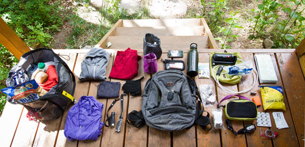 Packing the Synapse 19 for summer day hikes