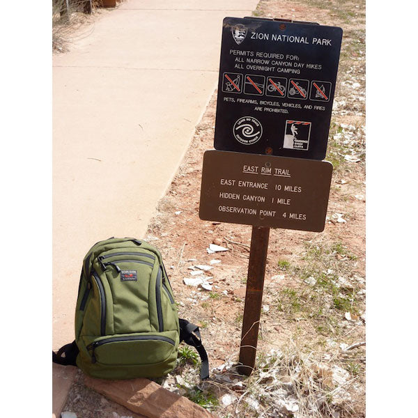 TOM BIHN Synapse at Zion National Park