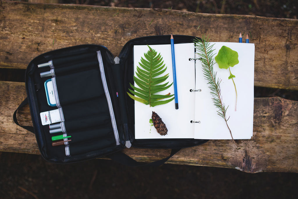 TOM BIHN Field Journal Notebook Returns! Day Planner, organizer, sketch book, notebook...