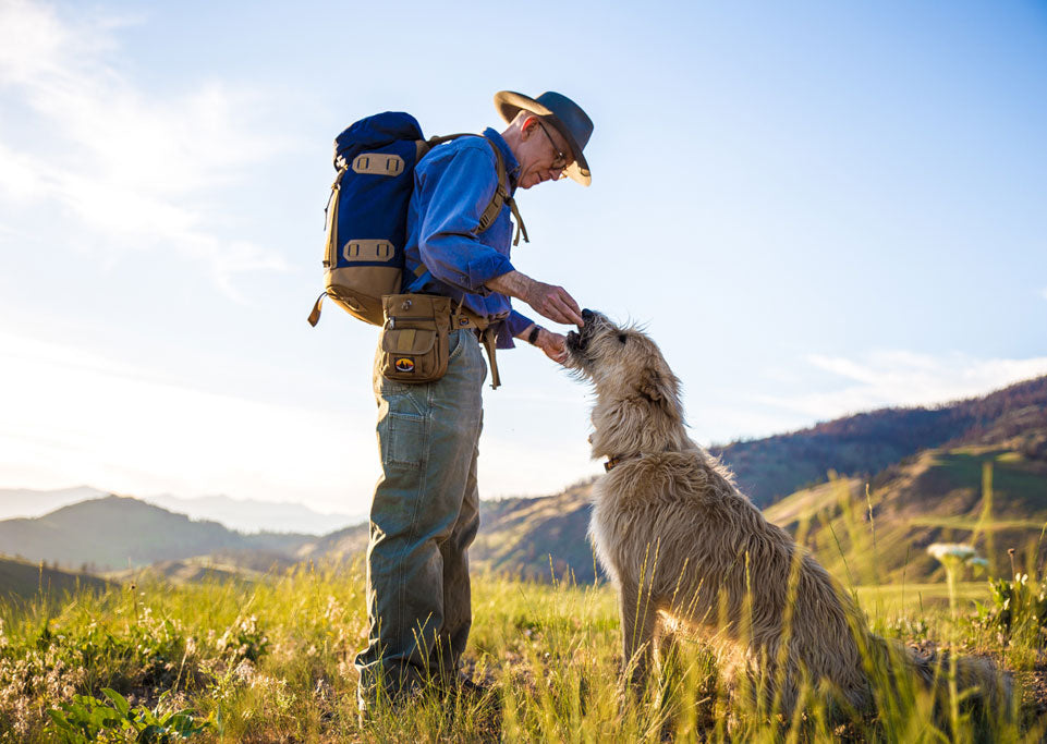 Tom and Kasper | TOM BIHN | Skookum Dog