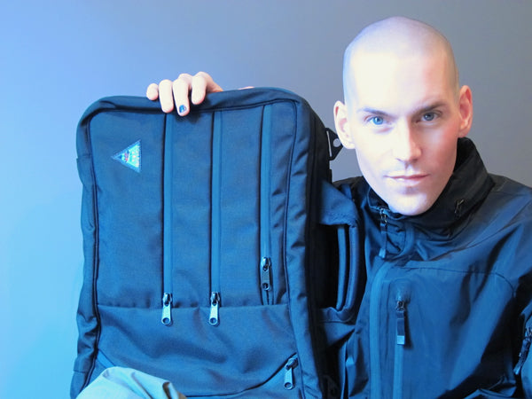 Tony Vincent with his TOM BIHN Tri-Star