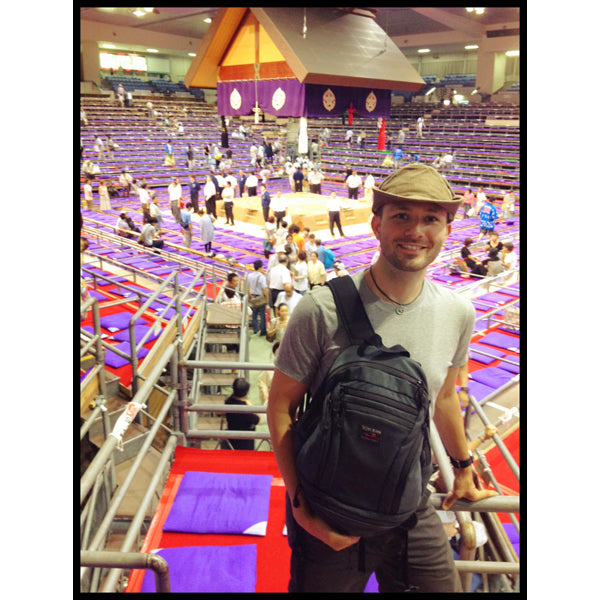 Some @TomBihn #synapse love at the Nagoya Sumo Tournament today