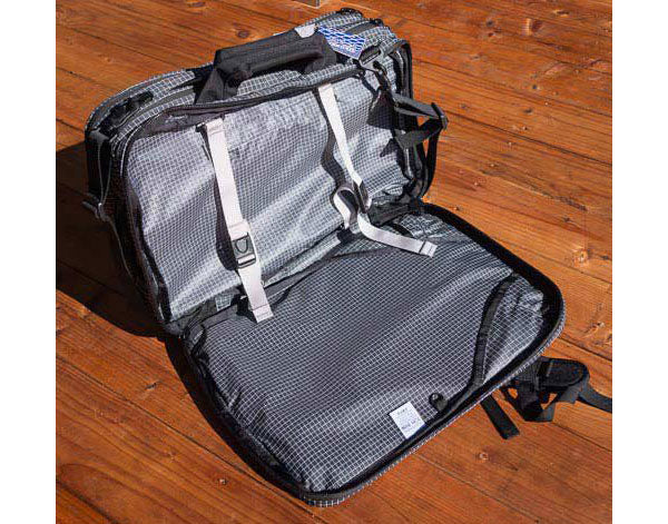 Ultralight carry-on luggage by TOM BIHN