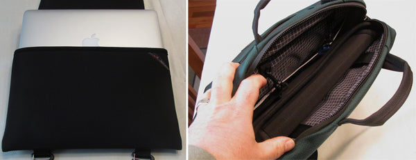 TUAW Review of the Cadet laptop bag for Apple laptops