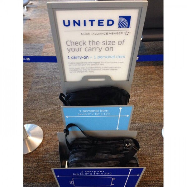 TOM BIHN | United Airlines Carry-On Luggage Restrictions