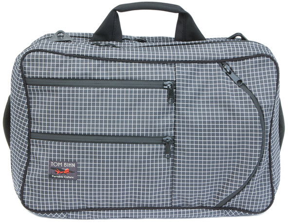 TOM BIHN Western Flyer Travel Bag in Steel Dyneema/Steel