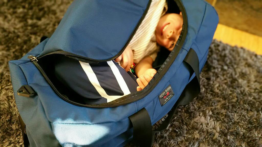 Zeke's photo of the Yeoman Duffel | TOM BIHN