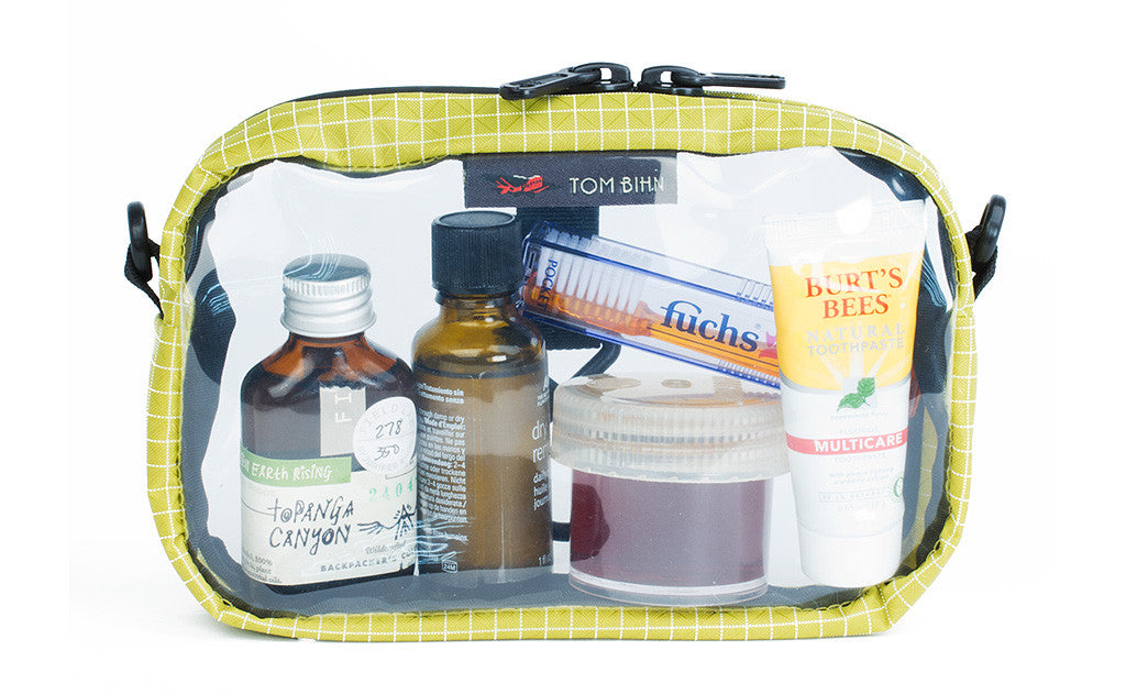 3d Organizer Cube Clear Toiletry Bags For Travel Tom Bihn
