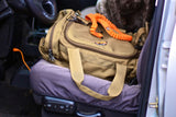 The Bungee Dog Leash and Skookum Dog Road Duffel..