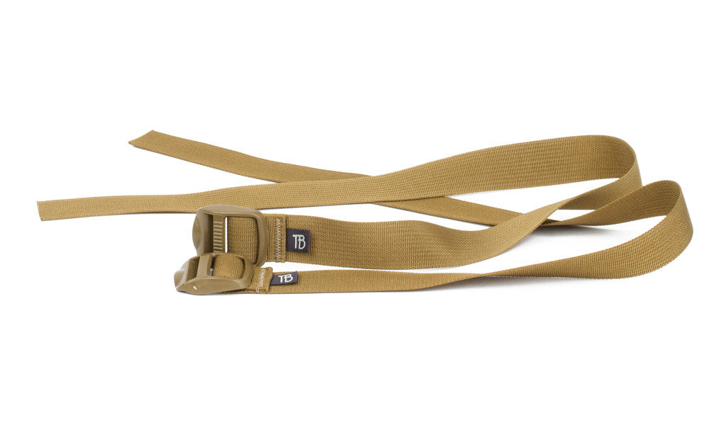 A pair of Guide's Pack Lash Straps.