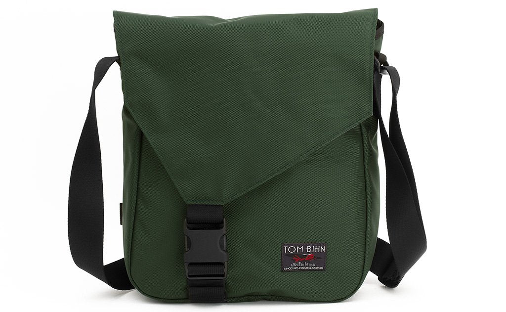 Medium Cafe Bag in Wilderness (forest green) 525 Ballistic