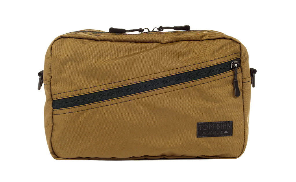 A Packing Cube Shoulder Bag in Coyote (tan) 210 Ballistic