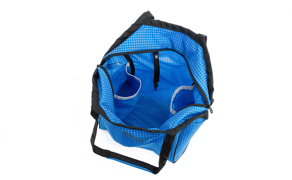 9850a112fc Small Zip-Top Shop Bag  Strong and Lightweight Reusable Tote Bag ...