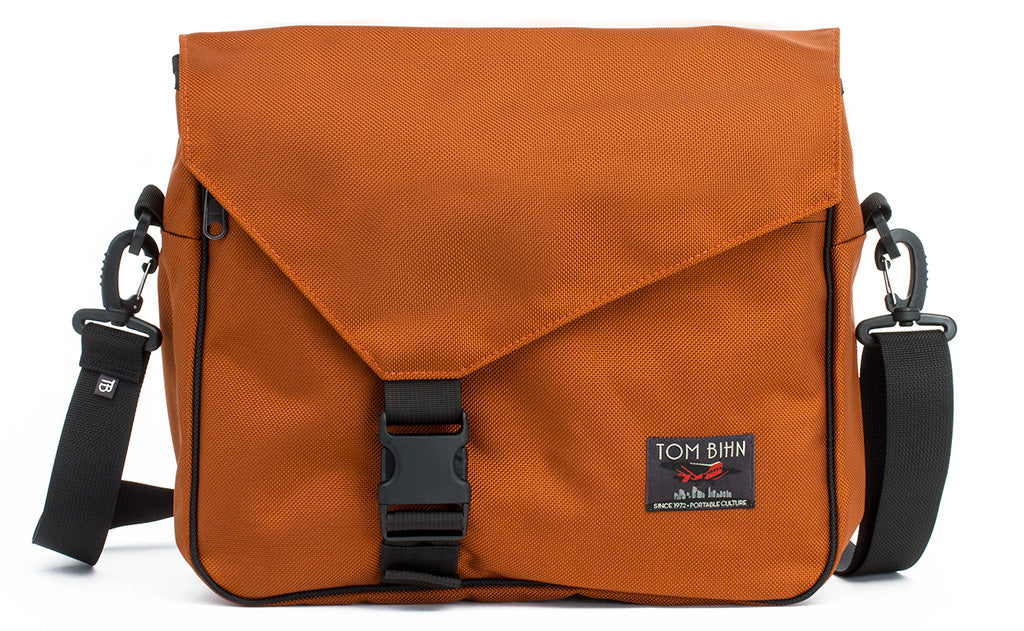 The Maker's Bag in Burnt Orange 1050 Ballistic.